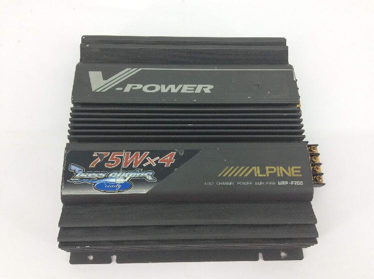 Amplificador alpine mrp f200