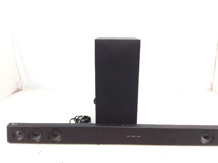 Barra sonido lg lg wireless speaker system subwoofer