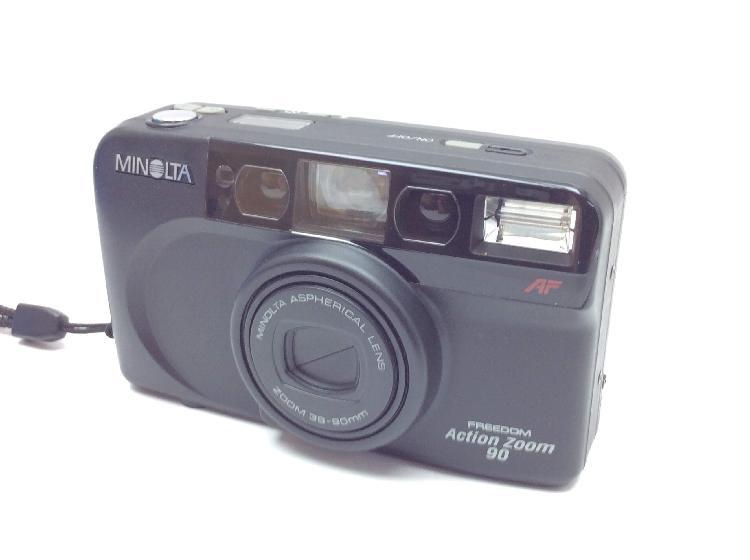 Camara compacta 35mm minolta freedom action zoom 90