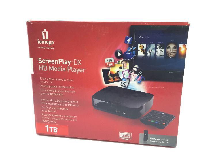 Disco duro multimedia iomega screenpla dx