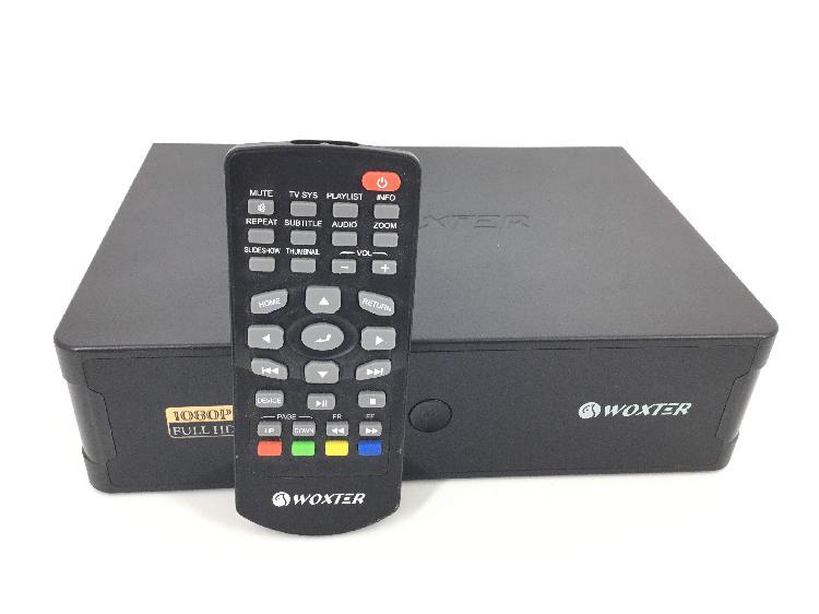 Disco duro multimedia woxter 1080p full hd