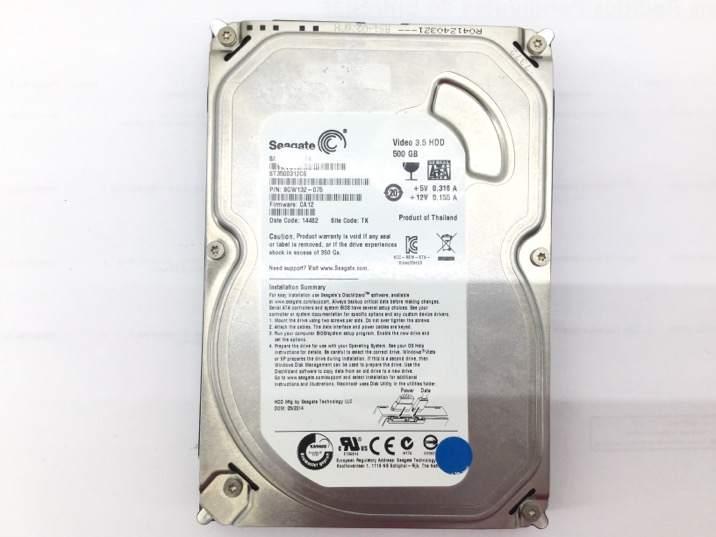 Disco duro seagate st3500312cs