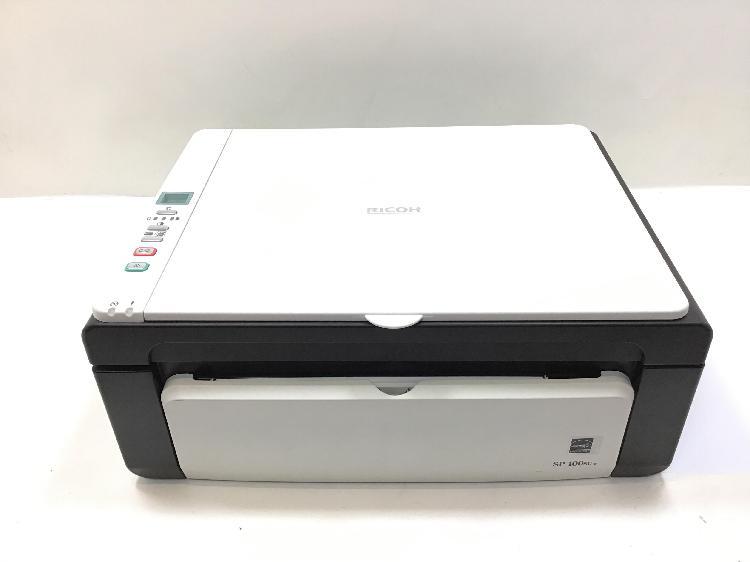 Impresora multifuncion ricoh sp 100su e