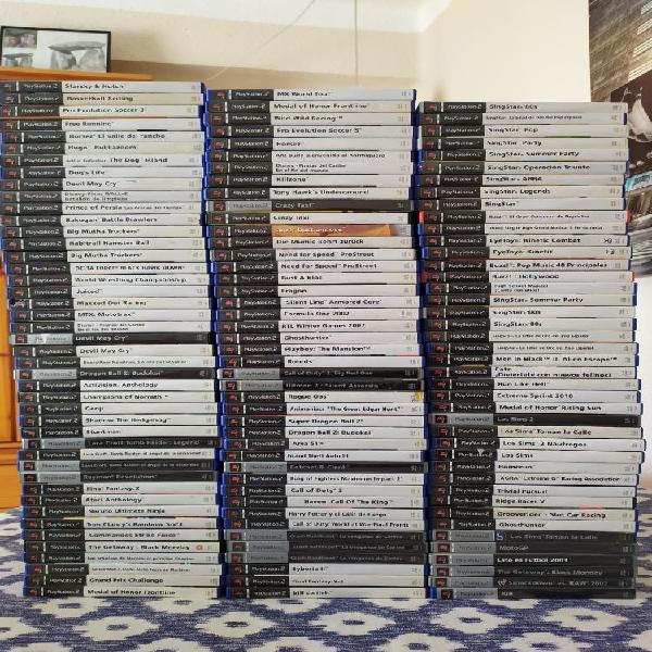 Juegos ps2 ver fotos todo original playstation 2