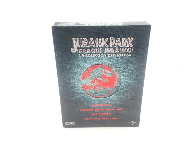 Jurassic park la coleccion definitiva