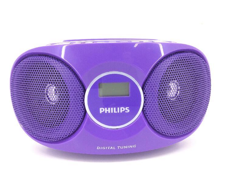 Radio cd cassette philips az215v/12