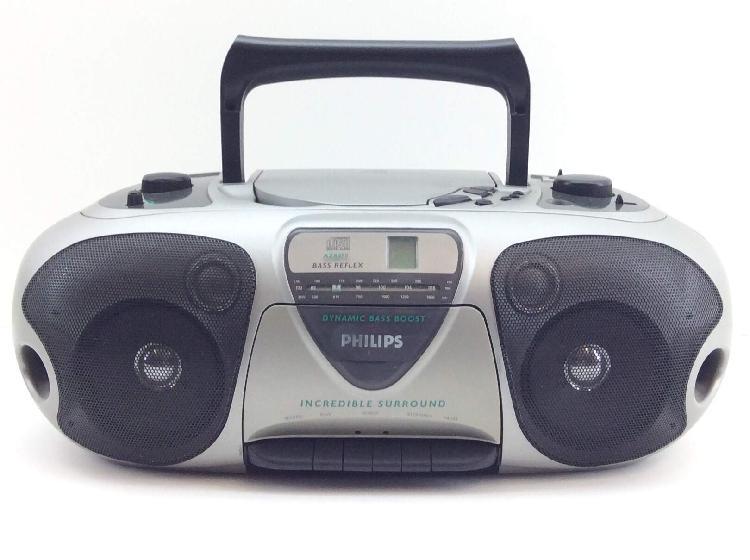 Radio cd cassette philips az8070/00s