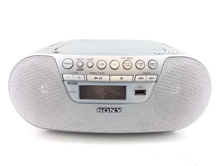 Radio cd cassette sony zsps30cp