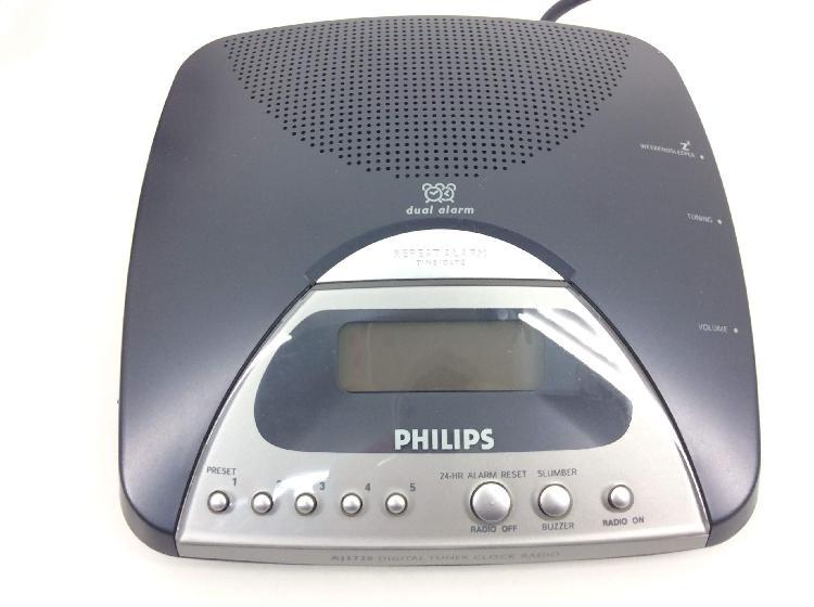 Radio despertador philips aj3720/005