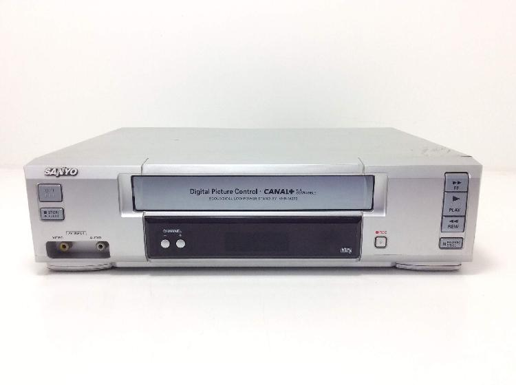 Reproductor video vhs sanyo vhr-m272sp