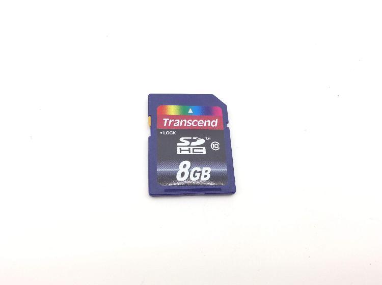 Sd card transcend sd hc 8 gb