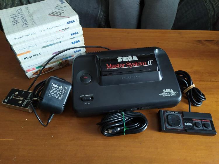 Sega master system 2 mas 6 juegos