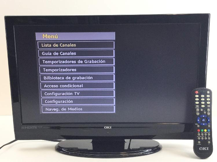 Televisor lcd oki v22dhduvi