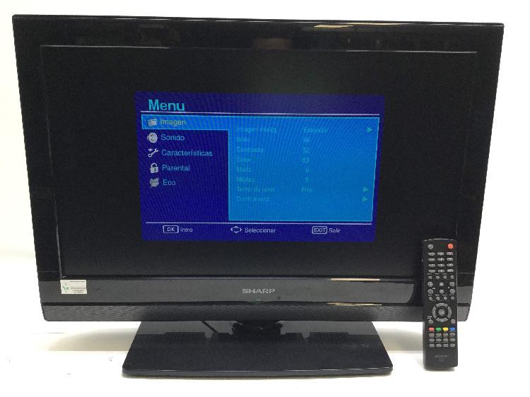 Televisor lcd sharp lc-26sh7e-bk