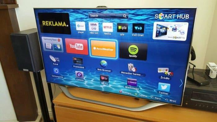 "Tv samsung 65"" smartv 3d es8000"