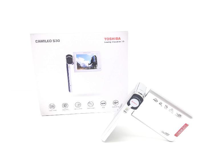 Videocamara digital toshiba camileo s30