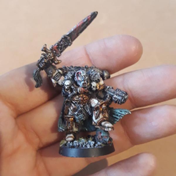 Warhammer conversion señor del caos de nurgle