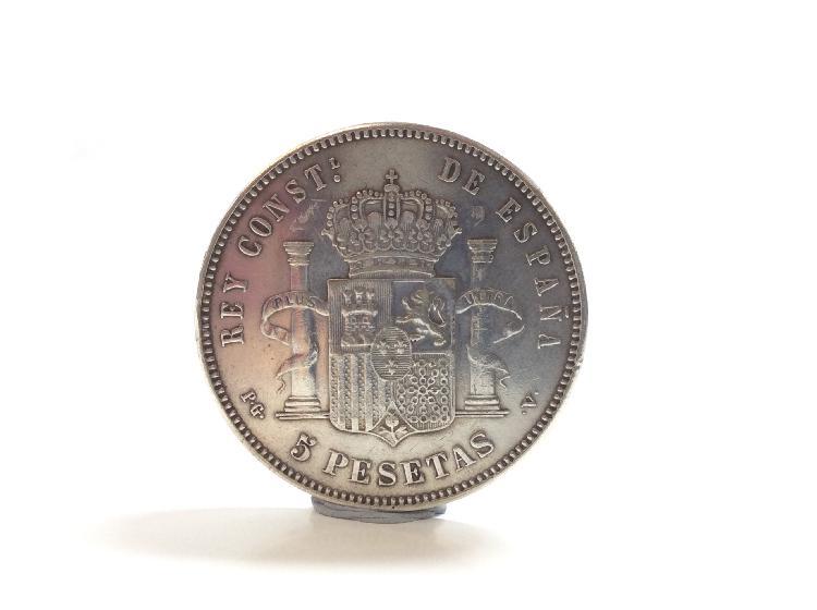 12 % moneda plata primera ley (plata 925mm)