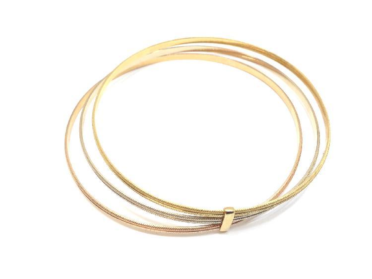 3 % pulsera oro primera ley (oro 18k)