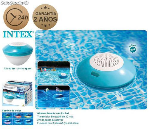 Altavoz bluetooth flotante intex