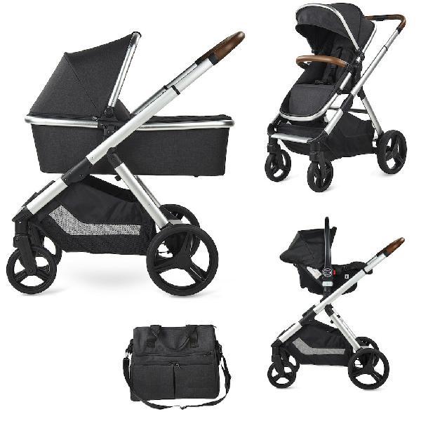 Babify one plus - cochecito de bebe 3 en 1 - capazo, silla,
