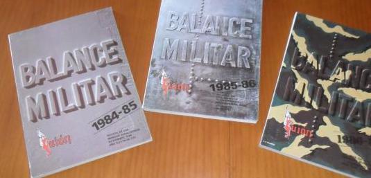 Balance militar 1984-1987