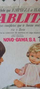 Caja de muñeca pablita