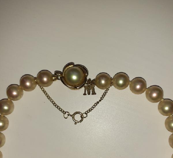 Collar perlas majorica 80cm