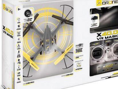 Drone ultradrone x40.0 vr mask