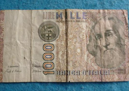 Italia, billete 1000 liras 1982