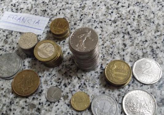 Lote 62 monedas antiguas de Francia