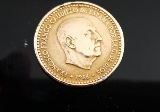 Moneda 1 peseta francisco franco