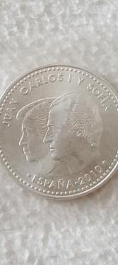 Moneda de plata 12 del año 2010