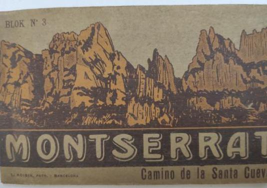 Montserrat camino santa cueva - blok nº3
