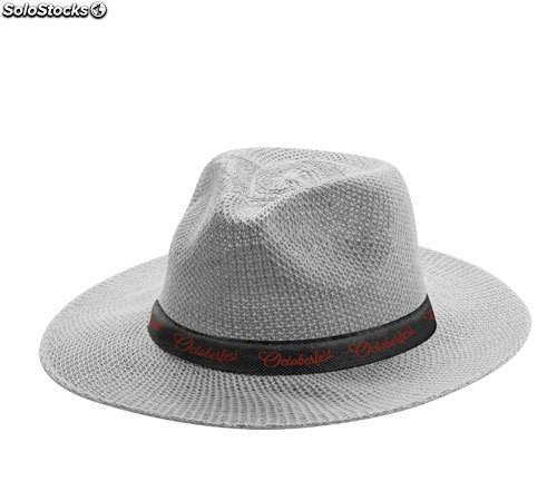 Sombrero sintético con cinta interior