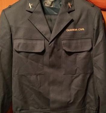 Uniforme guardia civil 2005