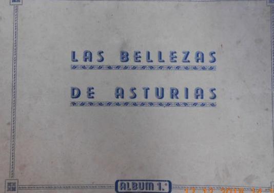 Antiguo album de las bellezas de asturias