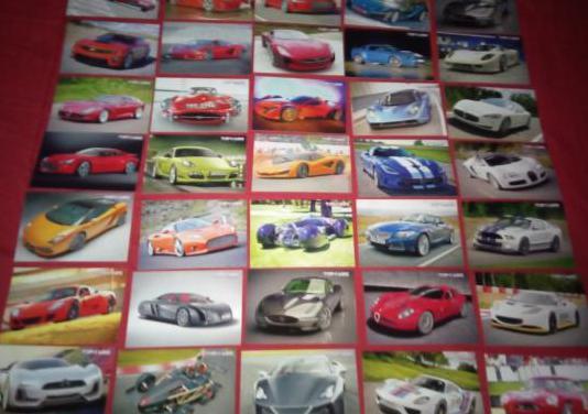 Cartas coleccionables de coches nuevas