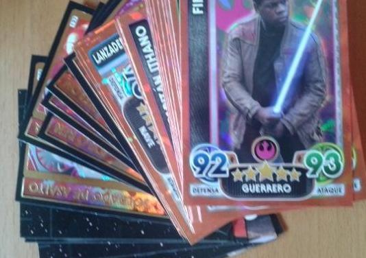 Cartas star wars force attax extra completo