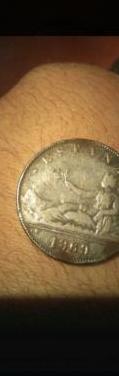 Monedas antiguas de 5 pesetas