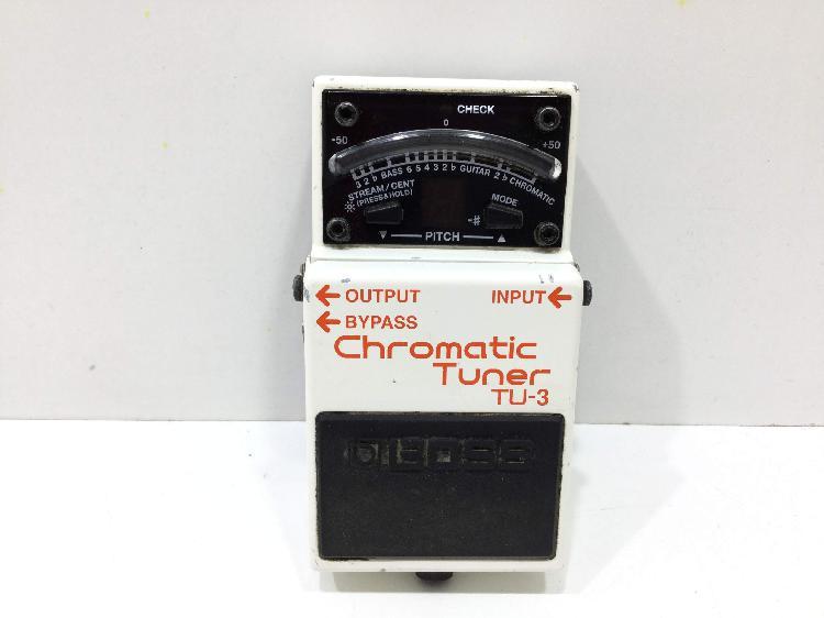 Pedal efectos boss chromatic tuner tu-3