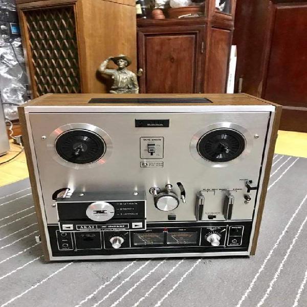 Akai x201d magnetofono reel restaurado