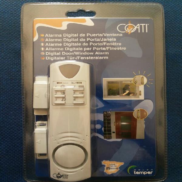 Alarma magnética digital de puertas y ventanas
