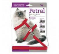 Arnes-petral para gatos y correa classic 3544