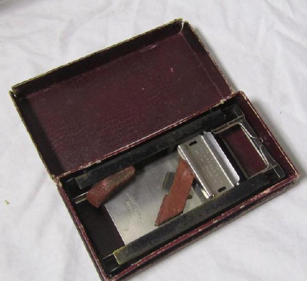 Afilador de cuchillas allegro, estuche original