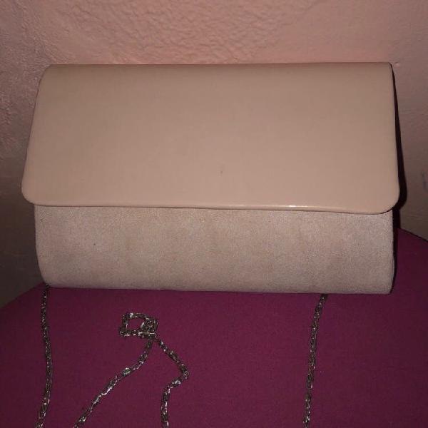Bolso rosa palo