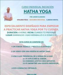 Curso individual iniciacion yoga