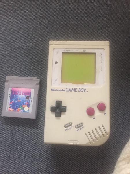 Game boy clasica y tetris