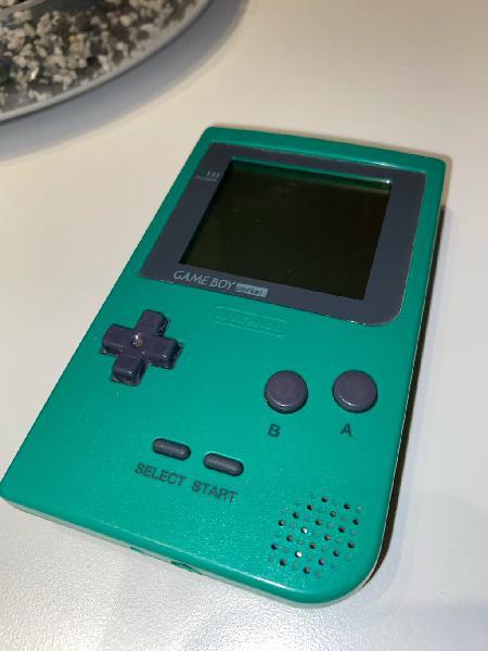 Gameboy pocket verde