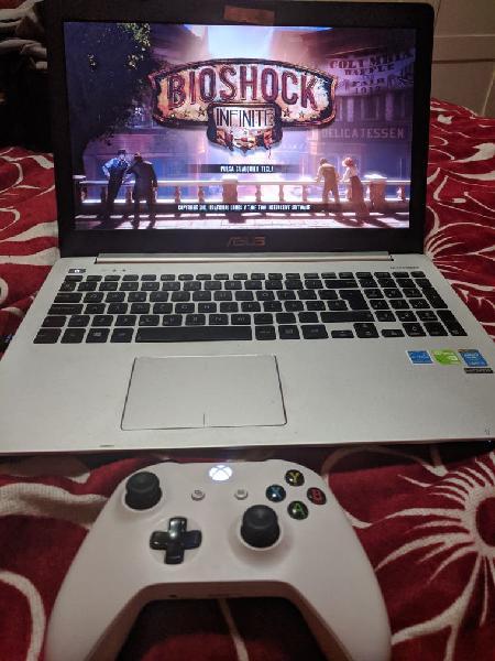 Laptop asus i5 nvidia + control xbox one